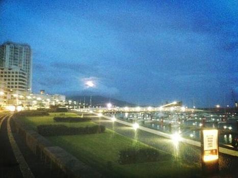 Twitter / jrmjones: Full moon over Ponta Delgada ...   Azores   Scoop.it