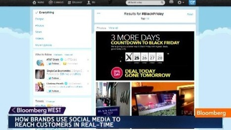 How Brands Boost Shopping Via Social Media - Bloomberg | (D)Anywhere | Scoop.it