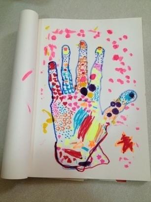 "Princess and the Rock: Pointillism vs ""Printillism"" | Homeschooling curriculum | Scoop.it"