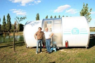 Charente-Maritime : ils ont inventé une caravane pliable | CAMPING-CARS CARAVANES MOBIL-HOMES | Scoop.it