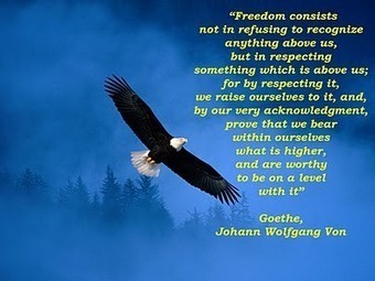 Freedom for the Higher... | Quote for Thought | Scoop.it