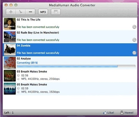 MediaHuman Audio Converter, conversor de audio gratuito | Batiburrillo.net | Scoop.it
