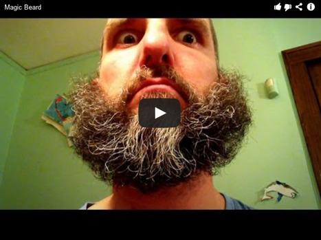 Magic Beard: A Stop-Motion Video of Amazing Beard Tricks by Ben Garvin...   Art for art's sake...   Scoop.it