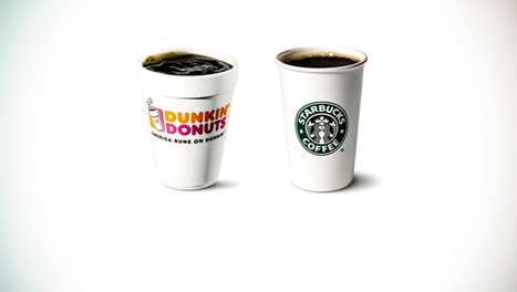 Dunkin' Donuts And Starbucks: A Tale Of Two Coffee Marketing Giants | AfsætningHHX | Scoop.it