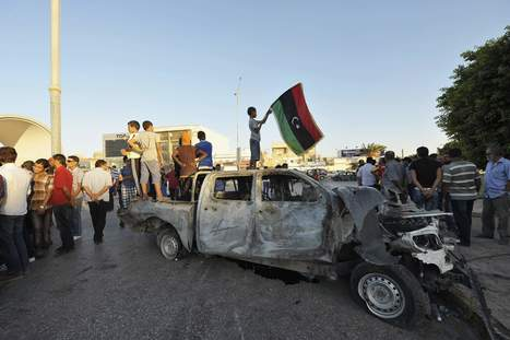 Libya gunmen steal US$54m in bank van heist - The Malay Mail Online | Saif al Islam | Scoop.it