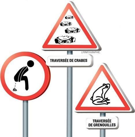 Ces panneaux de signalisation font le buzz sur les réseaux sociaux | La Boîte à Bazar d'A3CV | Scoop.it