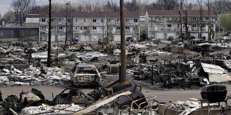 Feu de Fort McMurray : près de 9 000 habitants devront patienter avant leur retour | Planete DDurable | Scoop.it