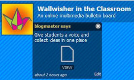 Wallwisher SEnbazure - A New and Improved Version | Friday Fun for Elementary Education Students | Scoop.it