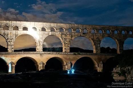 Dominique Guillot | Photos | Fééries du Pont du Gard | Revue de Web par ClC | Scoop.it