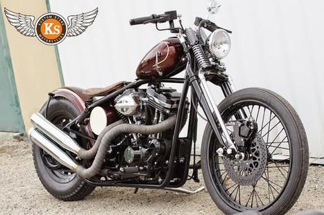 Kustom Store Motorcycles: Atelier KS: Sportster Rigide! | Kustom Store Motorcycles | Scoop.it