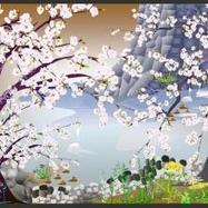 Espectaculares pinturas tradicionales japonesas hechas con... Excel | japon | Scoop.it
