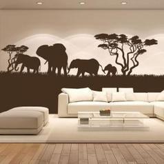 Vinilo Decorativo Elefantes África | Vinilos Decoración | Scoop.it