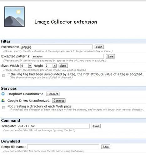 Crack-net: Une extension Chrome pour récupérer les images d'une page web | Actu High Tech | Scoop.it