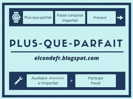 El Conde. fr: Le plus-que-parfait | Français Langue étrangère | Scoop.it
