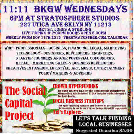 Nov 11th 2015 BKlyn Geek Wednesdays brings #tech #diversity to Crown Heights   #incomeinequality | Brooklyn By Design | Scoop.it