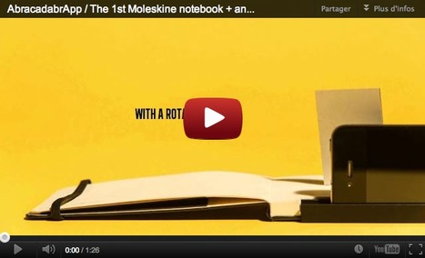 """Moleskine Notebook And """"Analog App"""" Brings Manual Photo And Video Mixing To iPhone   What's new in Visual Communication?   Scoop.it"""