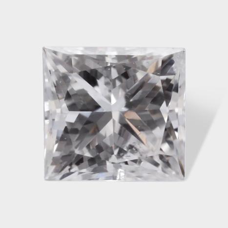 0.25 ctw 3 14 x 3 14 mm White G Color SI2 Clarity Princess Cut Real Diamond | Loose Diamonds | Scoop.it