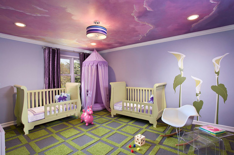 8 Dreamy Kids' Bedroom Ceilings to Stir Imagination | Home Essentials | Scoop.it