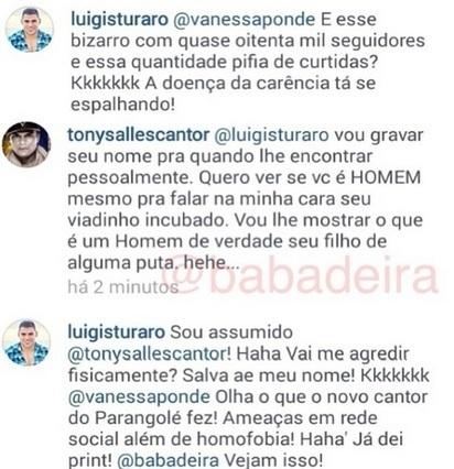 POLÊMICA! Tony Salles é acusado de homofobia em redes sociais - Varela Notícias | MÚSICA | Scoop.it