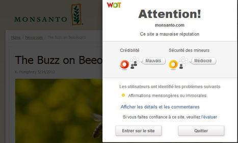 Monsanto | The Buzz on Beeologics | Abeilles, intoxications et informations | Scoop.it