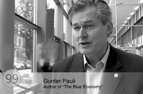 Gunter Pauli, Sustainability, thrivability, and transforming capitalism. | Conciencia Colectiva | Scoop.it