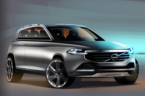 Next-Generation Volvo XC90 To Launch In Late 2014 | Auto Guide India | Scoop.it