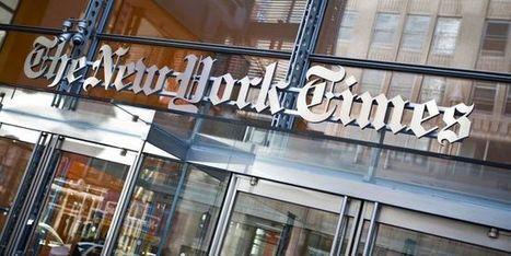 Le «New York Times» restructure ses activités à Paris | DocPresseESJ | Scoop.it