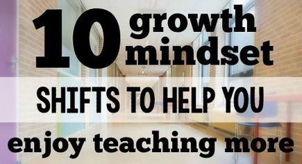 10 Mindset Shifts to Help You Enjoy Teaching More | Education and Leadership | Scoop.it