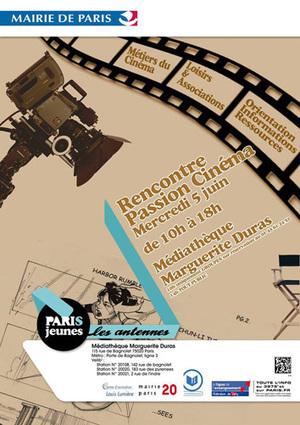 RENCONTRE PASSION CINÉMA à la Médiathèque Marguerite Duras | Vos passions | Scoop.it