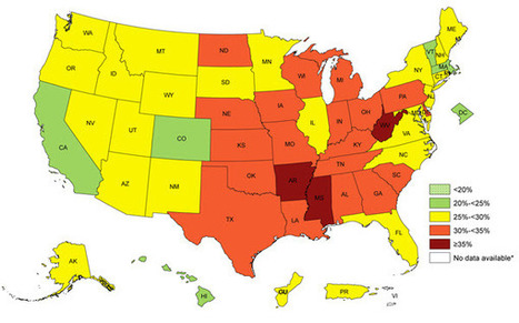 Obesity Prevalence Maps from CDC | Heart and Vascular Health | Scoop.it