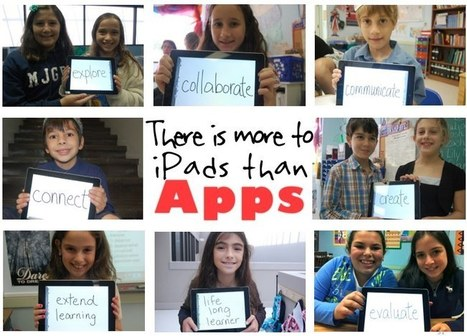 There is More to iPads in the Classroom Than Apps | Digital Communicative and Collaborative Resources for Teachers | Scoop.it