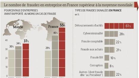 La fraude en entreprise, un mal très français | Pick & Croque le web | Scoop.it