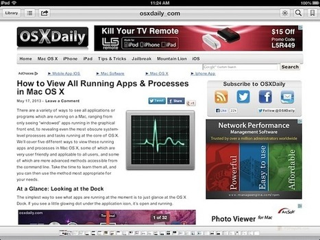 How to Save Web Pages as PDF Files on the iPad & iPhone   Reputo Diversus   Scoop.it