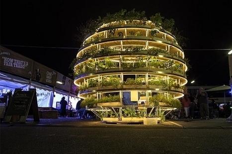 The Grow Room : une sphère de verdure pour promouvoir l'agriculture urbaine | EFFICYCLE | Scoop.it