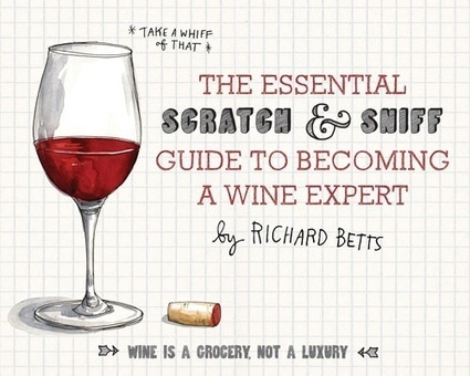 Scratch and sniff wine book released | Autour du vin | Scoop.it