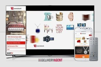 Overstock's TV commerce campaign extends multiscreen interaction - Mobile Commerce Daily - Advertising | Commerce & Digital Marketing | Scoop.it