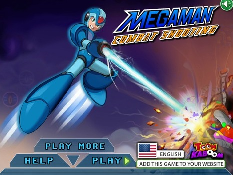 Megaman Combat Shooting | Action Games | Online Shooting Games | Scoop.it