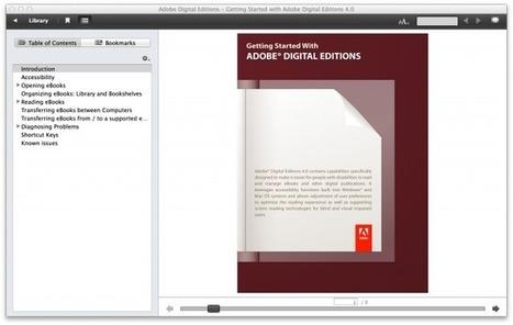 Adobe's e-book reader legt jouw leesgedrag vast voor nader gebruik (?) | Mediawijsheid in het VO | Scoop.it