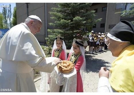Pápežov tvít pri rozlúčke s Arménskom: Ďakujem všetkým za prijatie | Správy Výveska | Scoop.it