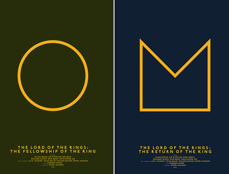 Minimalist Posters That Reduce Your Favorite Movies To Basic Shapes | What's new in Visual Communication? | Scoop.it