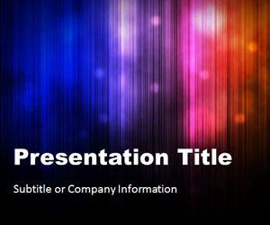 Northern Lights PowerPoint Template | dark | Scoop.it