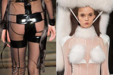 NSFW PHOTOS: Designer Sends Naked Models Down Runway | Xposed | Scoop.it