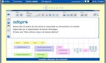 Procesador de texto adaptado para dificultades de aprendizaje.- | Magister Informatica Educativa y Gestión del Conocimiento | Scoop.it