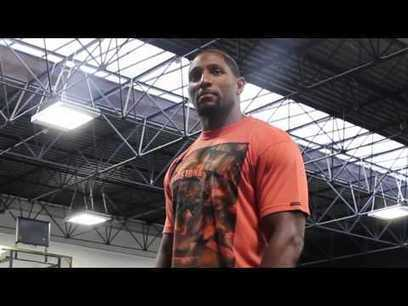 Ray Lewis visits London School Of Basketball | Climate Change | Scoop.it