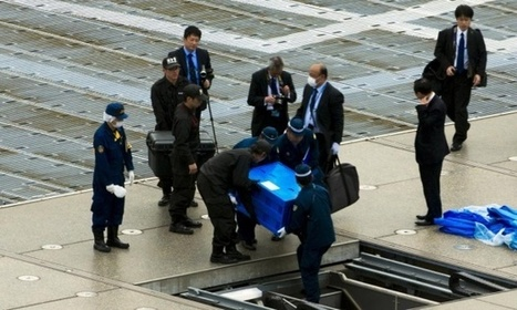 Drone 'containing radiation' lands on roof of Japanese PM's office | qrcodes et R.A. | Scoop.it