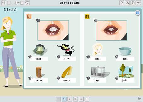 Les consonnes: identification, prononciation, dictées | Français langue étrangère - FLE | Scoop.it