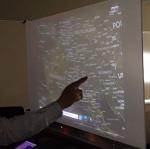 Las paredes convertidas en superficies táctiles con Kinect   Realidad Aumentada -   Scoop.it