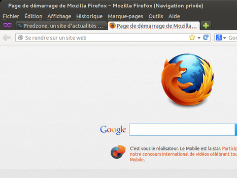 Ouvrir des onglets de navigation privée dans Firefox   François MAGNAN  Formateur Consultant   Scoop.it