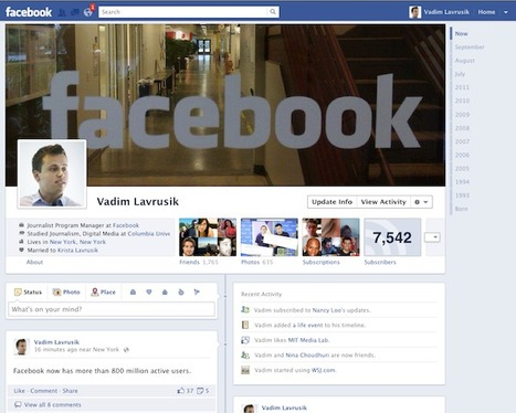 Vadim Lavrusik: What Facebook's latest updates mean for journalists   Community Media   Scoop.it