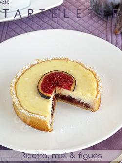 Tartelettes à la ricotta, miel & figues | Alter Gusto - Recettes de cuisine | Voyages et Gastronomie depuis la Bretagne vers d'autres terroirs | Scoop.it